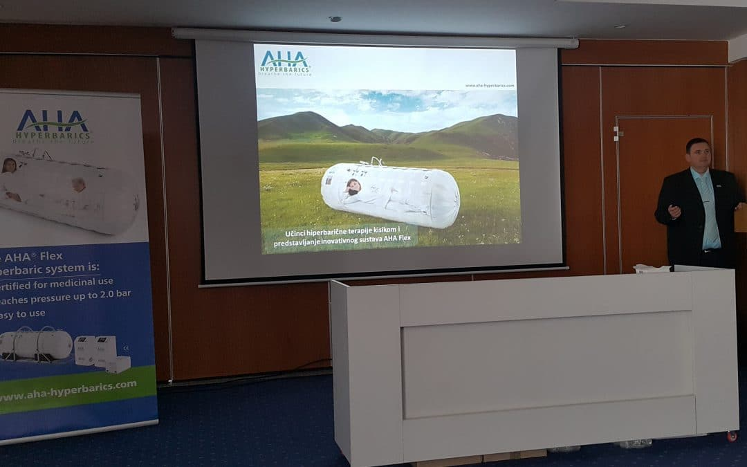 Presentation of innovative hyperbaric oxygen system in Croatia