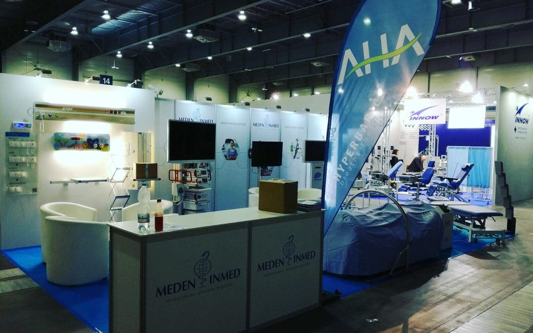 AHA Hyperbarics chambers on SALMED 2018
